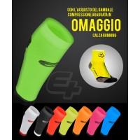 Gambale compressione + Calza Running in Omaggio